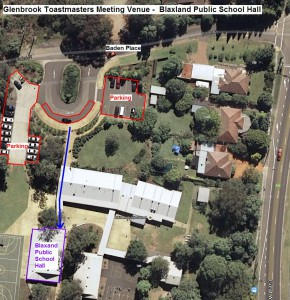 Blaxland Public School - Meeting Location